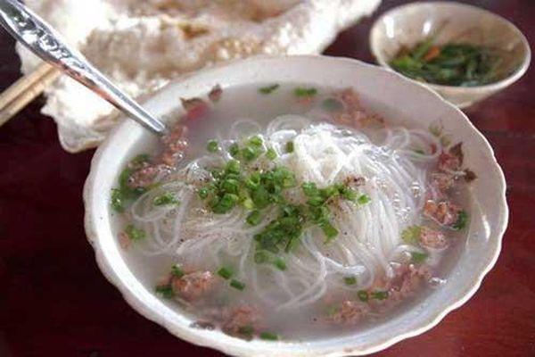 Thơm ngon bún rạm, bún tôm Phù Mỹ, Bình Định