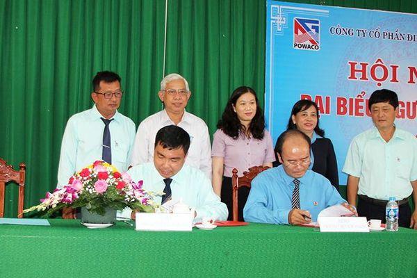 Công ty Cổ phần Điện nước An Giang hội nghị đại biểu người lao động năm 2021