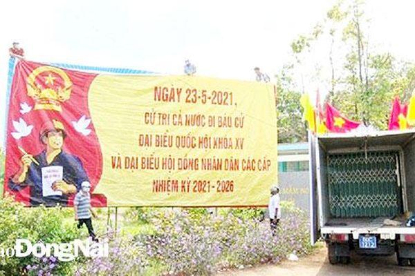 Huyện Thống Nhất: Tăng cường sự lãnh đạo của Đảng trong công tác bầu cử