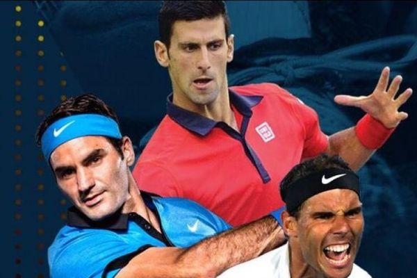 'Big 3' cùng tranh tài ở Madrid Mở rộng