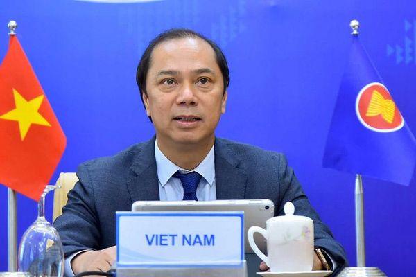ASEAN và Anh tăng cường hợp tác ứng phó Covid-19, phục hồi kinh tế bền vững