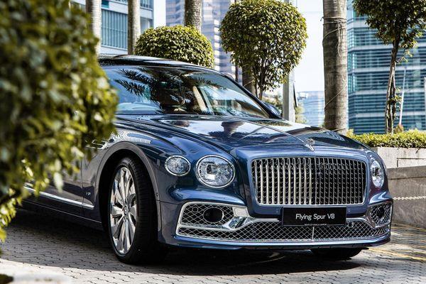 Bentley Flying Spur V8 2021 được ra mắt tại Malaysia