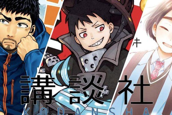 Công bố 13 đề cử của giải thưởng Kodansha Manga