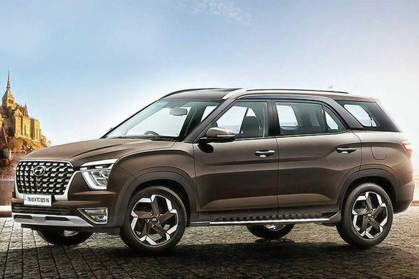 SUV 7 chỗ bình dân Hyundai Alcazar lộ diện