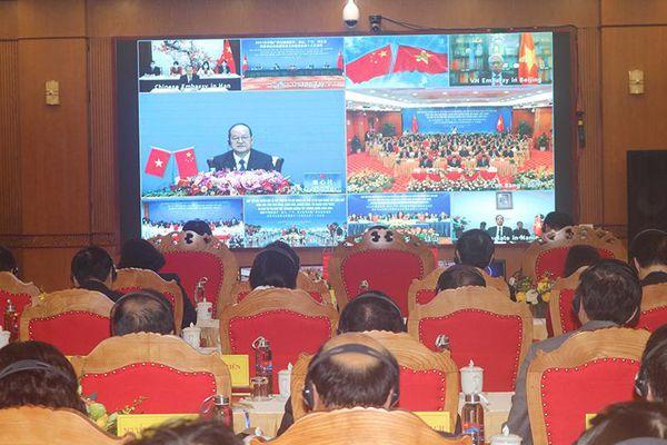 Hội nghị Gặp gỡ đầu Xuân 2021 giữa các địa phương Việt Nam - Trung Quốc