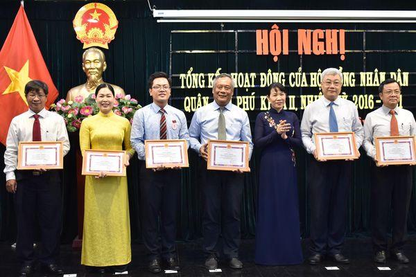 Quận Tân Phú tiếp tục giải quyết kịp thời các kiến nghị của cử tri