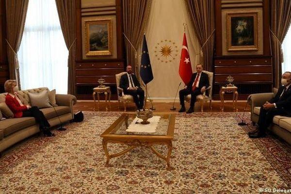Bê bối ghế sofa Thổ Nhĩ Kỳ-EU: Thủ tướng Italy phản ứng gay gắt, Thổ Nhĩ Kỳ 'trả miếng', triệu Đại sứ