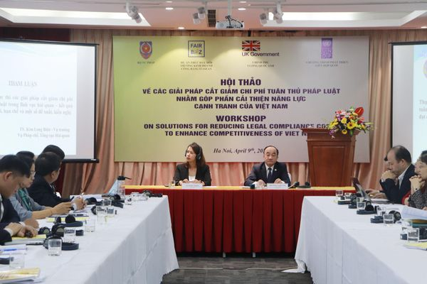 Tiếp tục cải thiện chỉ số chi phí tuân thủ pháp luật của Việt Nam