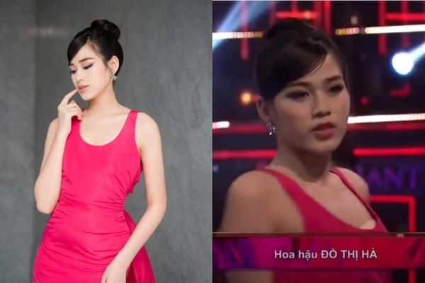 Đỗ Thị Hà vô tình để lộ 'phụ tùng nhạy cảm' khi lên sóng truyền hình
