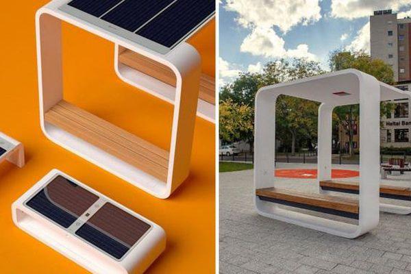 Ghế năng lượng mặt trời '3 trong 1'