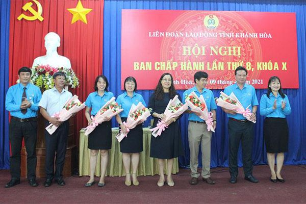 Liên đoàn Lao động tỉnh Khánh Hòa: Hội nghị Ban Chấp hành lần thứ 8