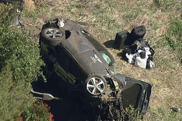 Tiger Woods gặp nạn ở tốc độ 135 km/h
