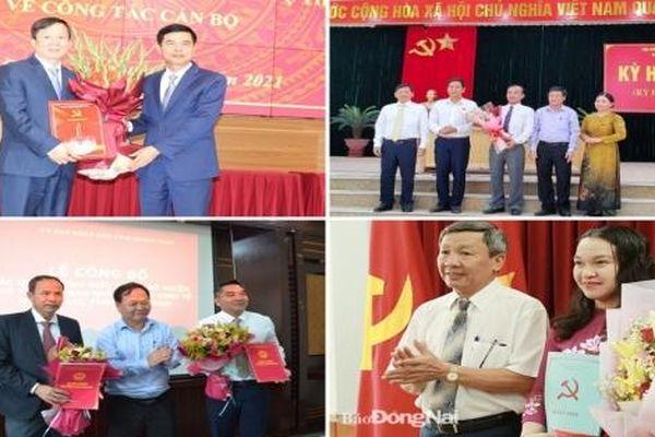 Hà Nội, Quảng Nam, Đồng Nai bổ nhiệm nhân sự lãnh đạo mới