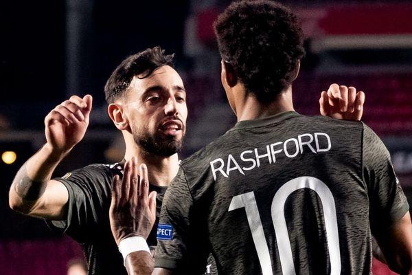 Thắng dễ Granada, MU 'đặt một chân' vào bán kết Europa League