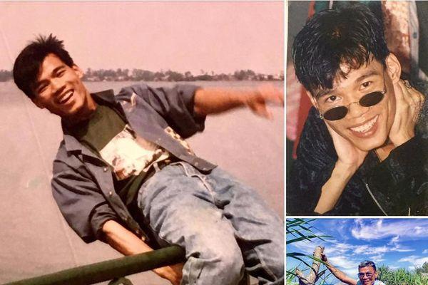 'Khai quật' ảnh thời trẻ, NTK Tiến Lợi tiết lộ mốt thời trang 30 năm trước