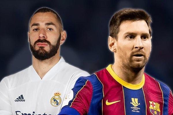 Cuộc đấu kinh điển Messi và Benzema
