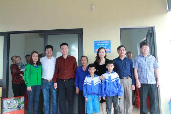 Báo GD&TĐ tổ chức Lễ khánh thành và bàn giao nhà cho 2 anh em mồ côi