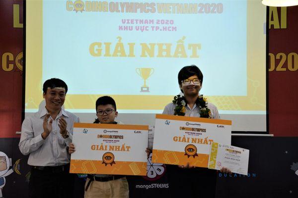 Trao giải cuộc thi Coding Olympics VietNam 2020 khu vực TP.HCM