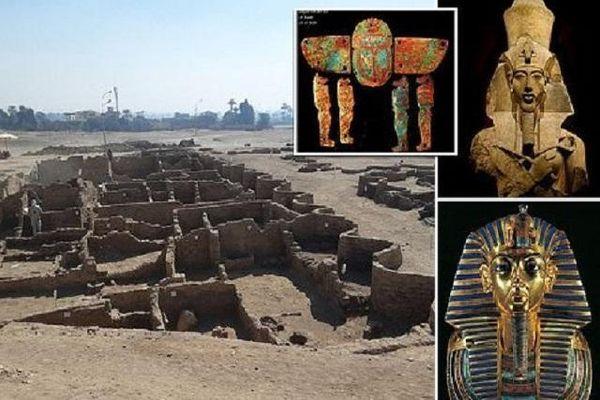 Giải mã bí ẩn 'thành phố vàng' 3.500 năm tuổi vừa được tìm thấy ở Ai Cập