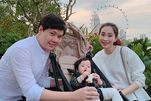 Mỗi lần đăng ảnh vợ con, chồng Đặng Thu Thảo đều khiến dân tình phì cười