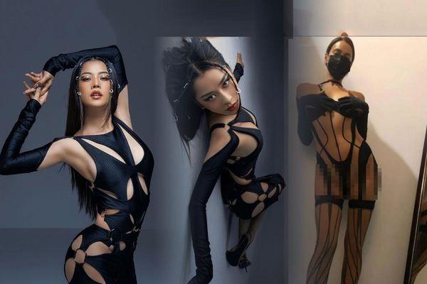 Chi Pu lại bị tố copy ý tưởng chụp ảnh thời trang từ siêu mẫu Nga Irina Shayk