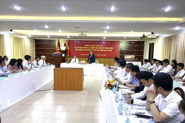 Đại học Quốc gia TP. Hồ Chí Minh là đơn vị nghiên cứu đa ngành, đa lĩnh vực