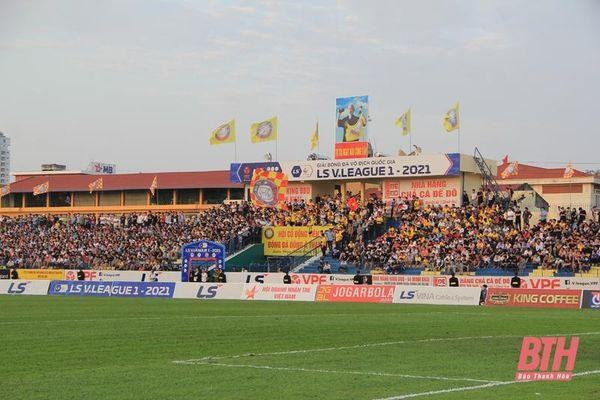 Khán giả tiếp tục được vào sân miễn phí trận Đông Á Thanh Hóa gặp TP Hồ Chí Minh