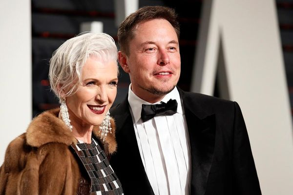 Người mẹ là siêu mẫu của tỷ phú Elon Musk