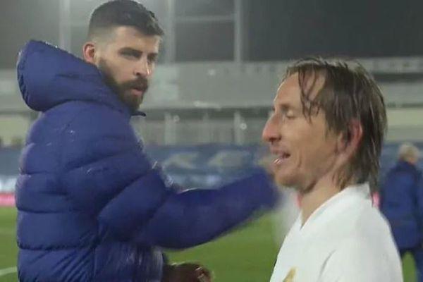 Modric mỉa mai Pique sau trận El Clasico
