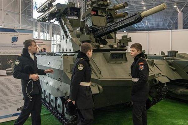 Báo Anh: Robot chiến đấu Nga mạnh nhất