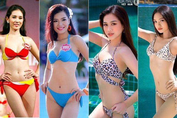 Vóc dáng nóng bỏng của Đỗ Thị Hà và những người đẹp xứ Thanh từng dự thi Hoa hậu Việt Nam