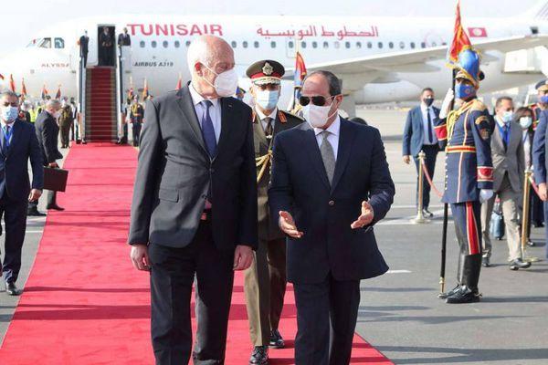 Ai Cập-Tunisia thảo luận về Lybia, Palestine và Đập Đại Phục hưng