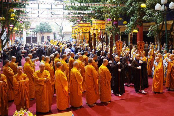 Chính thức truyền giới tại Đại giới đàn Hà Nội Phật lịch 2565