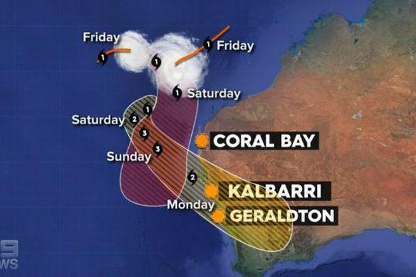Sơ tán do bão Seroja mạnh lên ở Tây Australia