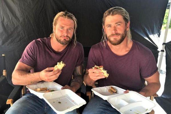 Nam diễn viên tăng 10 kg để đóng thế Chris Hemsworth
