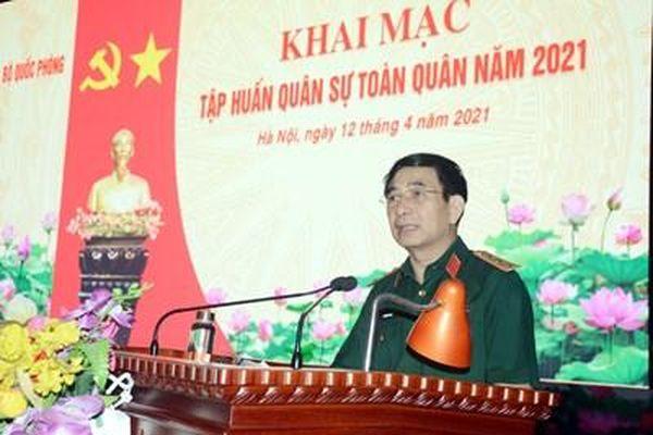 Thượng tướng Phan Văn Giang: Bộ Quốc phòng đổi mới mạnh mẽ, toàn diện công tác huấn luyện