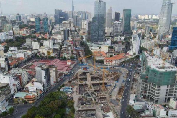 Dân Sài Gòn khấp khởi chờ ngày ga Metro số 1 trả lại đường Lê Lợi
