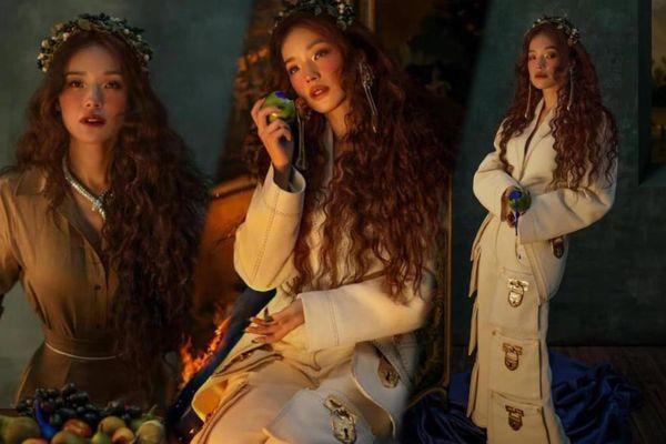 'Quả bom gợi cảm' Thư Kỳ đẹp như công chúa trong cổ tích trên bìa Harper's Bazaar