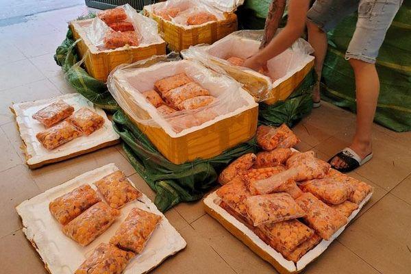 Hà Nội: Tạm giữ 600kg tràng trứng gà non không rõ nguồn gốc xuất xứ
