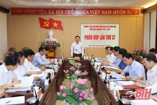 Thường trực HĐND tỉnh cho ý kiến vào nhiều nội dung liên quan đến kỳ họp thứ 15 và kỳ họp tổng kết HĐND tỉnh, khóa XVII