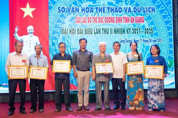 Đại hội đại biểu Câu lạc bộ Thể dục dưỡng sinh tỉnh An Giang (nhiệm kỳ 2021- 2025)