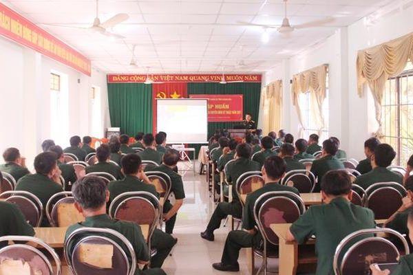 Tập huấn cho cán bộ, nhân viên kỹ thuật lực lượng vũ trang tỉnh năm 2021