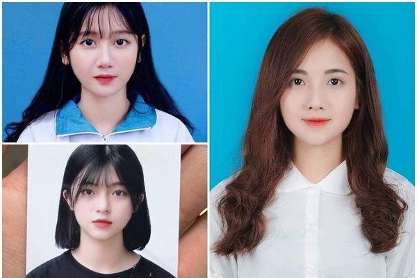 Vẻ đẹp trong trẻo của 3 cô gái được dân mạng tặng danh hiệu 'hot girl ảnh thẻ'