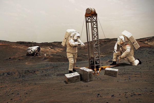 Hai phe ở Mỹ đoàn kết vì giấc mộng đưa người lên Sao Hỏa