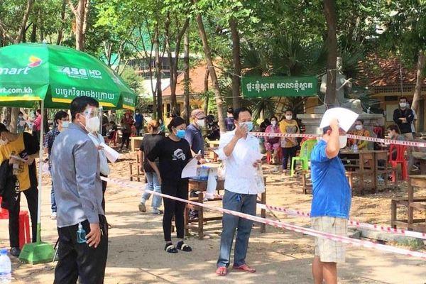 Phnom Penh tiếp tục áp dụng biện pháp hành chính phòng, chống dịch Covid-19