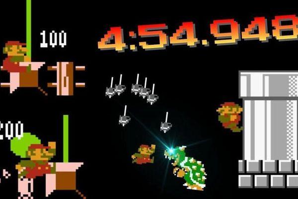 Kỷ lục 'phá đảo' game Super Mario mới được thiết lập