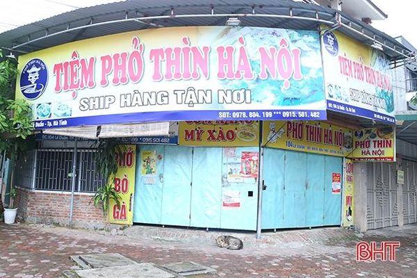 Nhiều quán phở ở Hà Tĩnh đóng cửa vì người dân 'quay lưng' với thịt bò, lợn