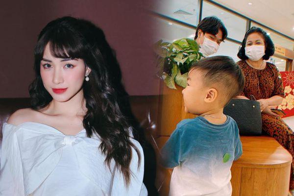 Thái độ của mẹ chồng Hòa Minzy khi được nhờ trông cháu hộ