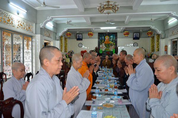 TP.HCM: Ban Trị sự Phật giáo quận Bình Thạnh triển khai hoạt động Phật sự