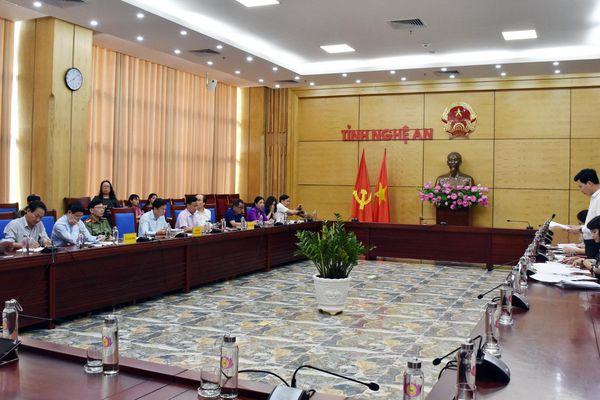 Ban Tôn giáo Chính phủ làm việc tại Nghệ An